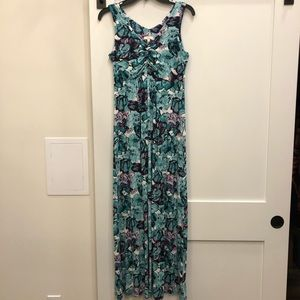 Talbots floral maxi dress